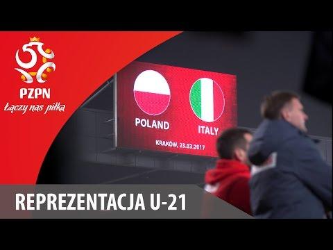 U-21: Skrót meczu Polska - Włochy