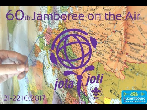 Jamboree On The Air 2017 Luxembourg