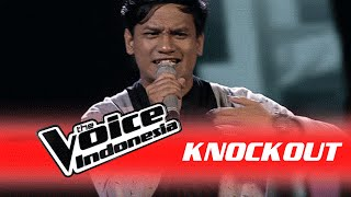 "Maruli Liasna  ""Over and Over Again"" I Knockout I The Voice Indonesia 2016"