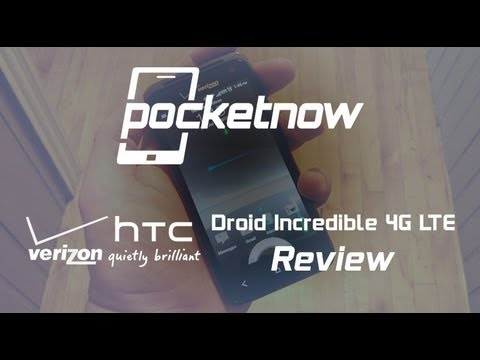 HTC Droid Incredible 4G LTE Review (Verizon)