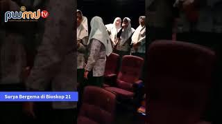 Lagu Sang Surya Bergema di Bioskop 21 sebelum Pemutaran Film Nyai Ahmad Dahlan