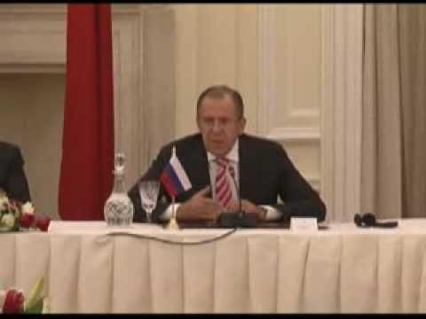 Совместная пресс-конференция С.Лаврова, С.Хуршида и Ван И