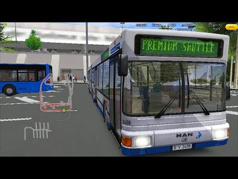 OMSI 2 - Bus Company Simulator Add-on Gameplay! 4K