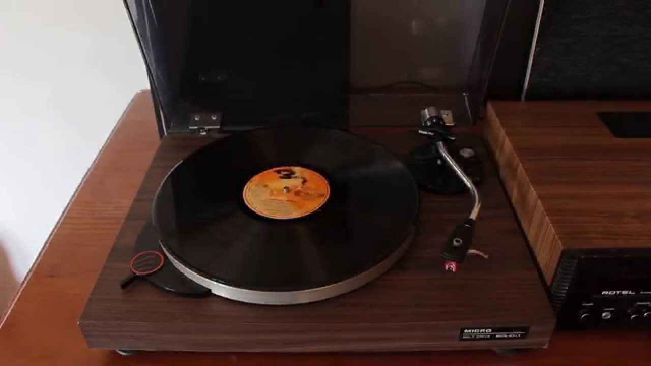 Micro Seiki (Rare Vintage Record Player)