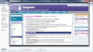 The Longman Dictionary of Contempory English 5th edition the most c...