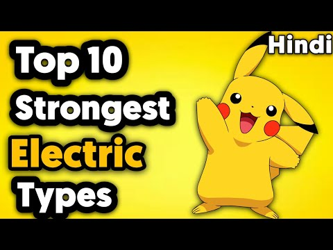 Top 10 Strongest Electric Type Pokemon In Hindi
