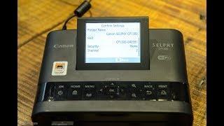 Dùng thử máy in Canon Selphy CP1300