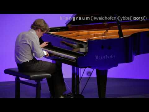 Benjamin Grosvenor plays Bach Partita No.4 BWV 828