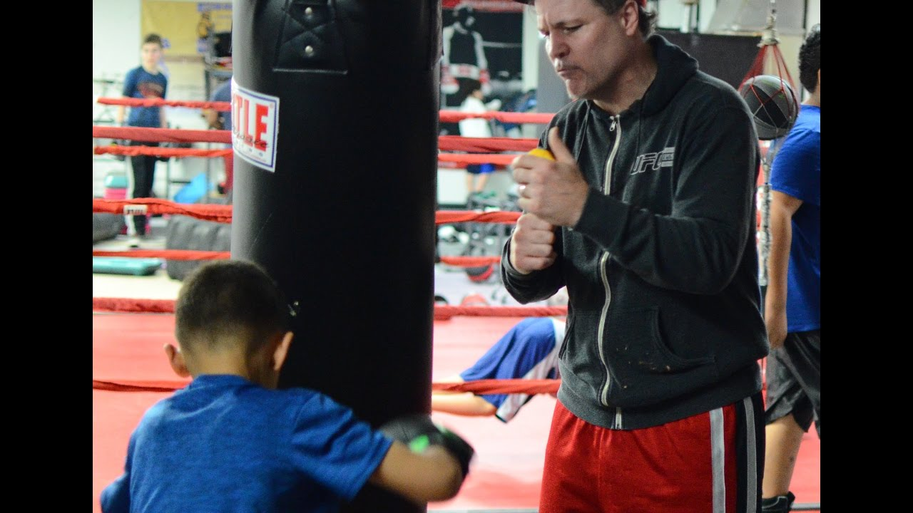 Old School Boxing Gym in Agawam, Mass Welcomes Their Newest Trainer,