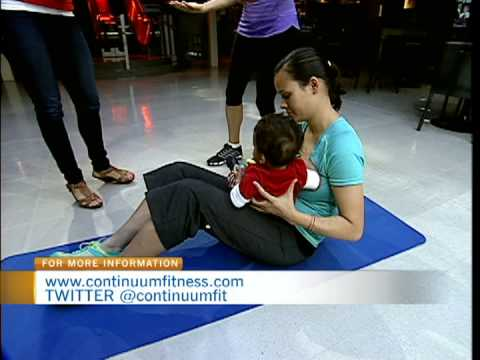 Working out with a Baby -- Continuum Fitness