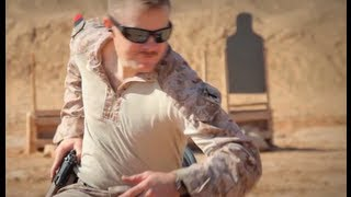 Marine Combat Shooting Course in Afghanistan
