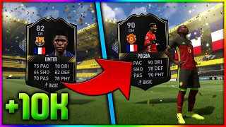 FIFA 17 | CHANGE YOUR OTW CARD FOR 10K! (FIFA 17 OTW FOR 10K - ONES TO WATCH SBC & OTW PACK OPENING)