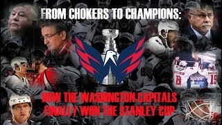 From Chokers to Champions: How the Washington Capitals Finally Won the Stanley Cup