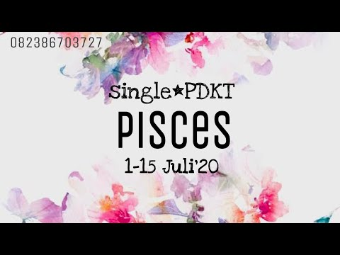 #PISCES SINGLE*PDKT JULI 2020 #marianalo#tarotreadingindonesia#tarotindonesia#piscesjuli2020#zodiak