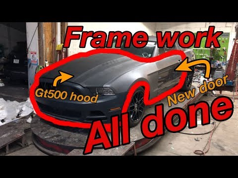 Rebuilding a subscribers wrecked ford mustang part 2 its done!