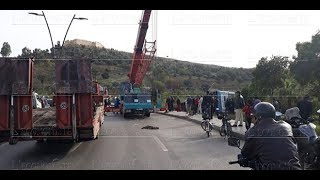 Plusieurs blessés dans un accident de bus à Fès