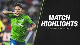 HIGHLIGHTS: LAFC vs. Seattle Sounders | October 29, 2019 | Western Conference Championship