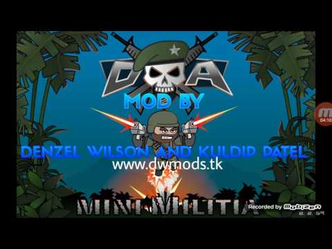 Cara download mini militia MEGA MOD!
