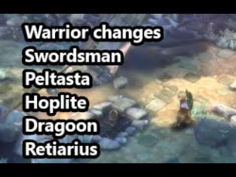 Warrior buffs! - For warrior friends - TOS KR