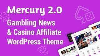 Mercury - Gambling News & Casino Affiliate WordPress Theme [Version 2.0]