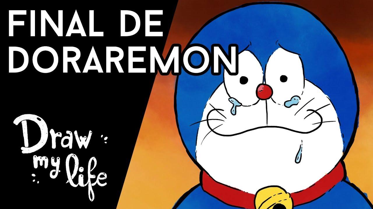 ¿QUÉ PASÓ con DORAEMON? TEORÍAS sobre su FINAL | Draw My Life
