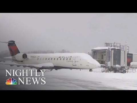 Record-Breaking Snowstorm In Pennsylvania Declared Disaster Emergency | NBC Nightly News