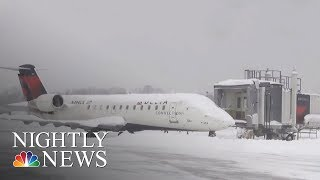 Record-Breaking Snowstorm In Pennsylvania Declared Disaster Emergency   NBC Nightly News