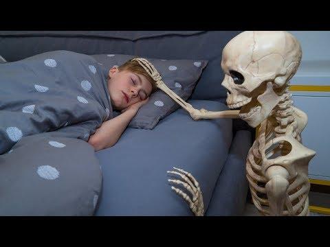 Это была  МЕСТЬ!!!Nerf vs Skeleton. He takes revenge on me ...
