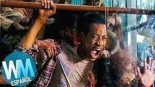 ¡Top 10 MUERTES en Walking Dead Cometidas por ZOMBIES!