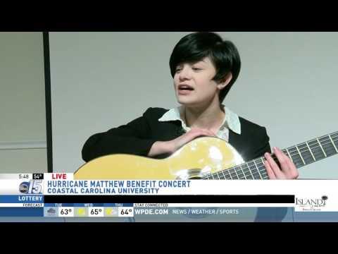 Amanda Live at benefit concert - Good Morning Carolinas - WPDE ABC 15