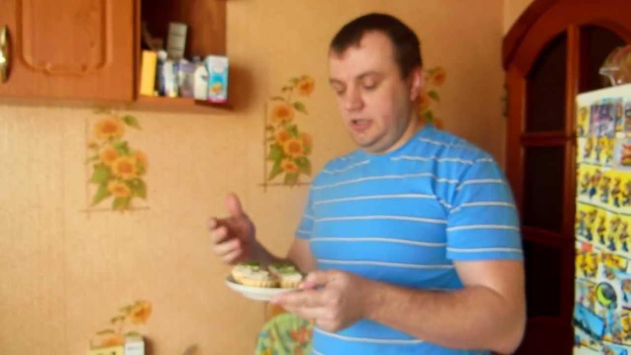 Тарталетки с рыбной начинкой.