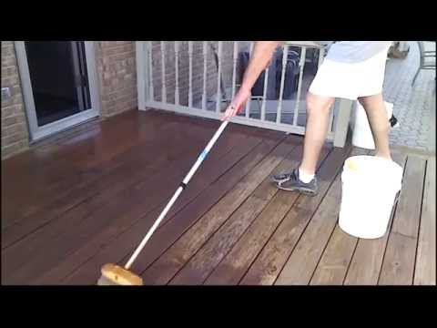 0 Apr Car >> Stain Your Deck Faster With a Car Wash Brush - YouTube