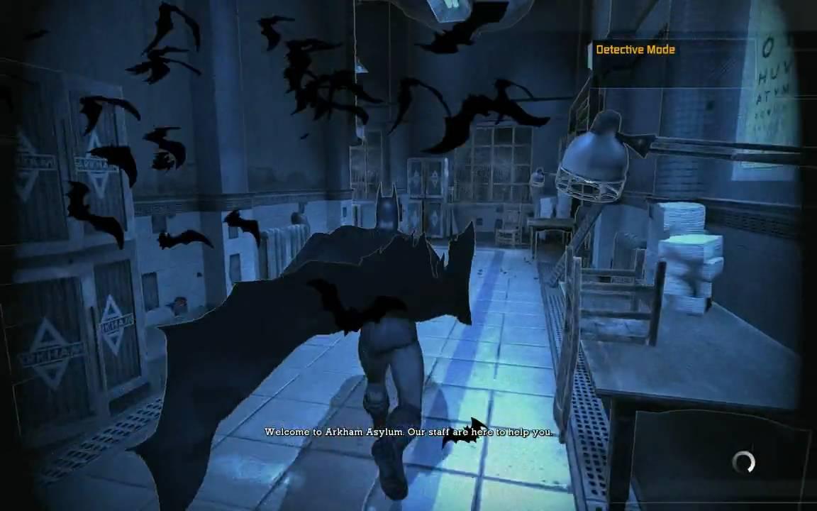Le guide du jeu « batman arkham asylum » | batman univers.