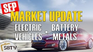 September 2018 Electric Vehicle & Battery Metals Market Update