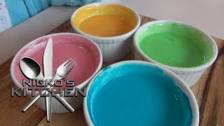 HOW TO MAKE PAINT FOR KIDS (non toxic) Thumbnail