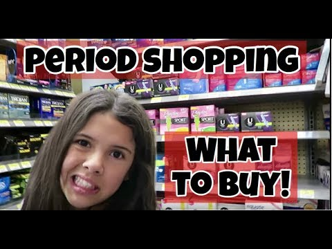 PERIOD SHOPPING BEWARE | PADS, TAMPONS & CRAMPS