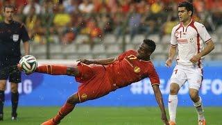 BELGIUM's highlights 1-0 Tunisia | Friendly | 2014/06/07