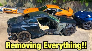 Rebuilding My Totaled Wrecked 2017 Nissan GTR Part 2 From Copart Salvage Auction