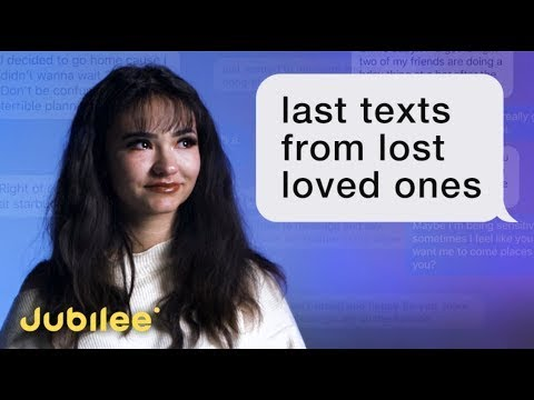 People Read the Last Texts From Their Lost Loved Ones