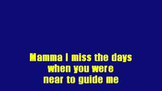 01 - Mama - Karaoke