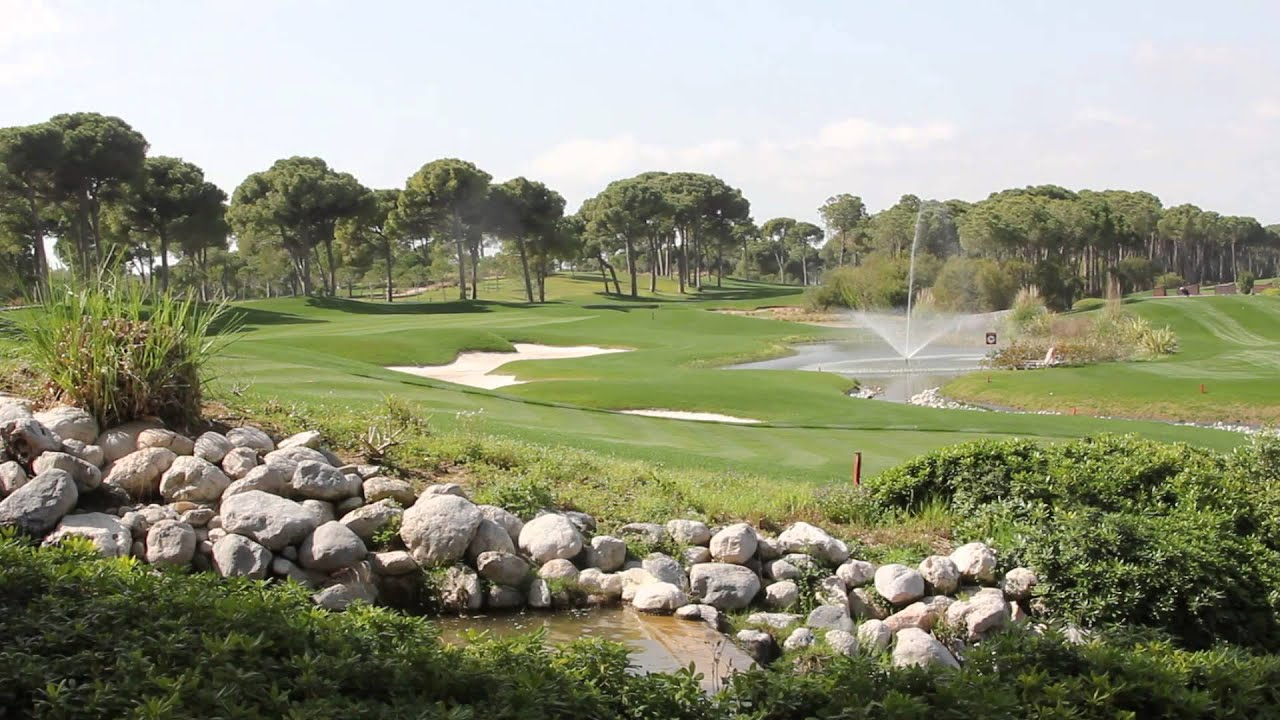 Montgomerie Maxx Royal - Home of the Turkish Airlines Open - YouTube 20bcf2cc51