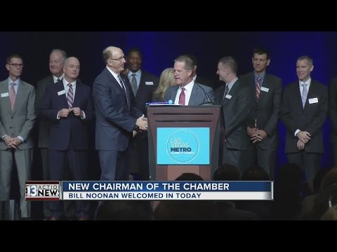New chairman sworn in to Las Vegas Metro Chamber of Commerce