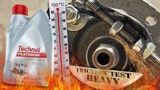 Technol Platinum 5W30 Jak skutecznie olej chroni silnik? 100°C