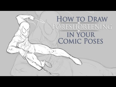 How to Draw Foreshortening in Your Comic Character Poses