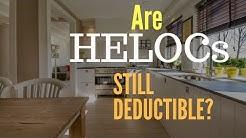 Are HELOCs Still Deductible? | simpleetax