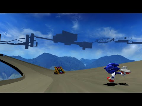Sonic Generations custom stage rough concept |
