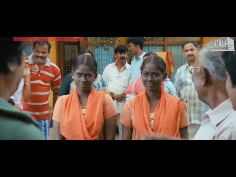 Sivaji the Boss comedy scenes - Meet Angavai and Sangavai