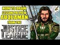 Lesson Preview How to draw Auquaman Speed Draw