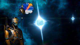 """Stellaris PvE """"Выживание"""" Злобная Галактика    Развитые ИИ   0.75 наука + кризис 2300"""