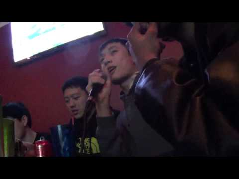 Table Tennis Players Singing Karaoke!